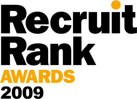 logo recruit rank awards 2009 450x326